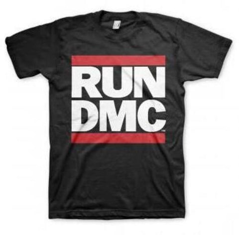 Run DMC Logo Black Unisex Short Sleeve T-shirt