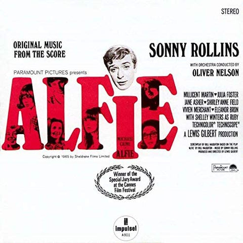 SONNY ROLLINS Alfie - 852 Entertainment
