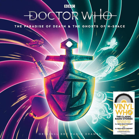 OTS DOCTOR WHO PARADISE OF DEATH & THE GHOSTS OF N-SPACE
