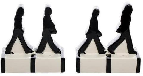 THE BEATLES Beatles Abbey Road Silhouettes Salt & Pepper Set - 852 Entertainment