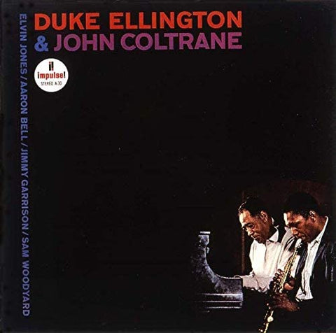 DUKE ELLINGTON & JOHN COLTRANE Duke Ellington and John Coltrane - 852 Entertainment