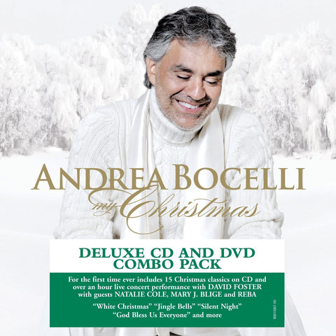 ANDREA BOCELLI My Christmas - 852 Entertainment