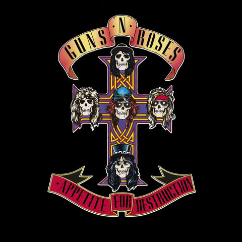 GUNS N' ROSES Appetite For Destruction - 852 Entertainment