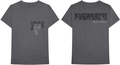 Black Sabbath Volume 4 Hands Up Grey Unisex Short Sleeve T-shirt