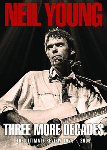 Neil Young - Three More Decades DVD (Region 1) 2021