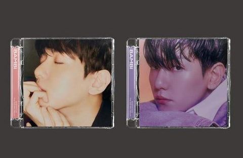Baek Hyun (EXO) - Mini Album Vol. 3 Bambi (Jewel Case Version) (Random) 2021