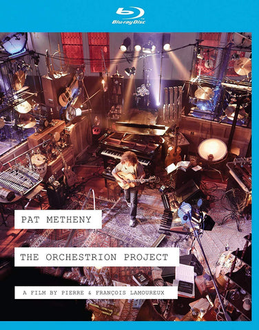 Pat Metheny - The Orchestrion Project Bluray (Region A) 2012