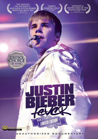 JUSTIN BIEBER Fever: Limited Edition Unauthorized - 852 Entertainment