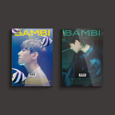 Baek Hyun (EXO) - Mini Album Vol. 3 Bambi (Photobook Version) (Random) 2021