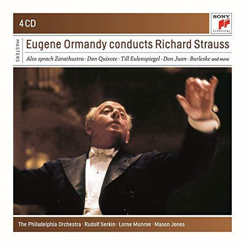 EUGENE ORMANDY Conducts Richard Strauss - 852 Entertainment