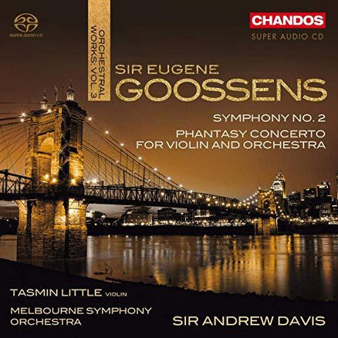 TASMIN LITTLE (VLN), MELBOURNE SYMPHONY ORCHESTRA, SIR ANDREW DAVIS Orchestral Works 3 - 852 Entertainment