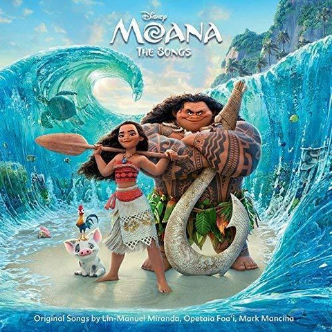 OST Moana: The Songs - 852 Entertainment