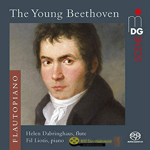HELEN DABRINGHAUS; FIL LIOTIS The Young Beethoven - Music For Flute And Piano