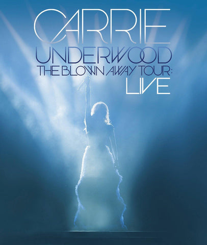 Carrie Underwood - The Blown Away Tour: Live DVD (All Regions) 2013