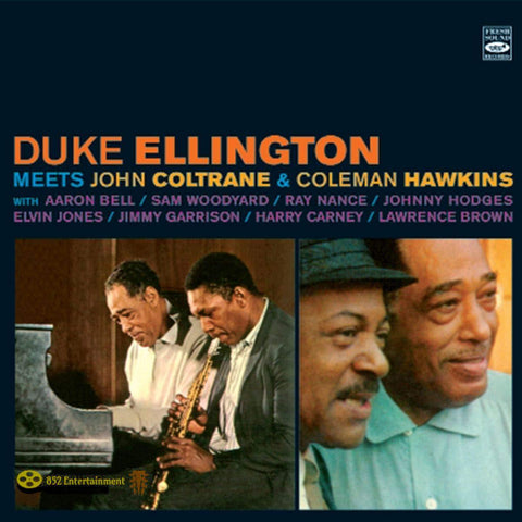 DUKE ELLINGTON Meets John Coltrane + Meets Coleman Hawkins - 852 Entertainment