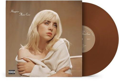Billie Eilish - Happier Than Ever (Brown) 2LP