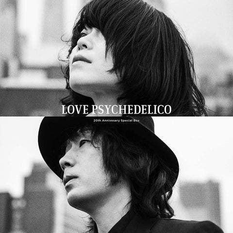 LOVE PSYCHEDELICO - 20th Anniversary Special Box 4CD + Bluray + LP + Goods (JP) 2020
