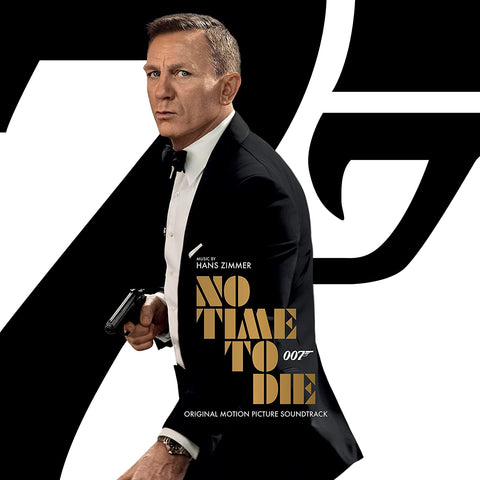 OST 007: No Time To Die by HANS ZIMMER CD 2020