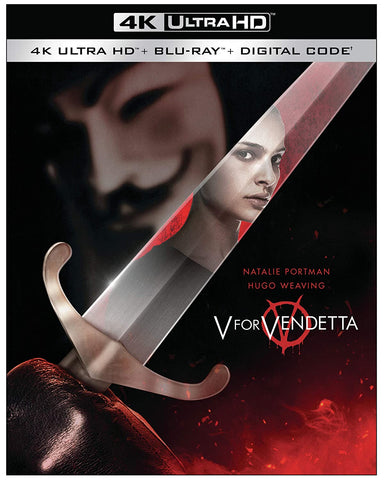 V for Vendetta 4K Ultra HD (All Regions) + Blu-ray (Region A) + Digital Code 2020