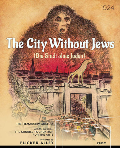 THE CITY WITHOUT JEWS (Flicker Alley) (1924)