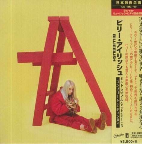 Billie Eilish - Don't Smile At Me CD+Blu-ray (All Regions) 2020