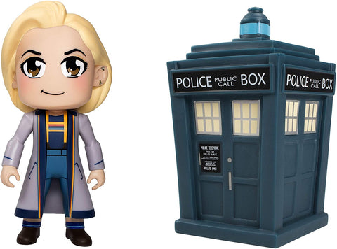 DOCTOR WHO TITANS: Thirteenth Doctor Kawaii and TARDIS twin-pack