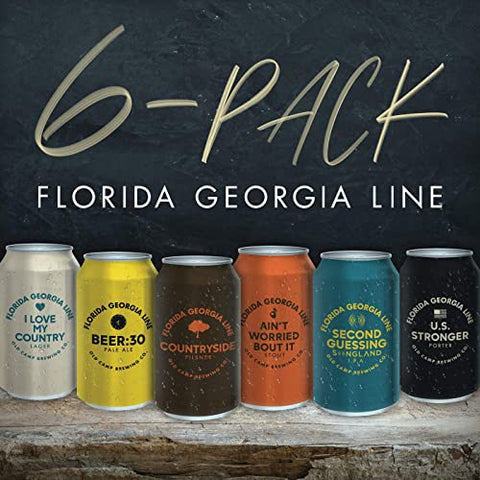 FLORIDA GEORGIA LINE 6-Pack - 852 Entertainment