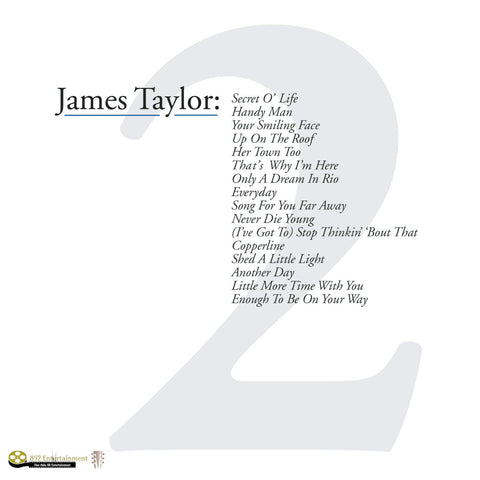 JAMES TAYLOR Greatest Hits Vol. 2