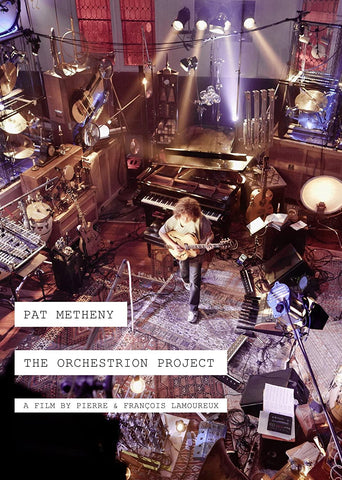 Pat Metheny - The Orchestrion Project DVD (Region 1) 2012