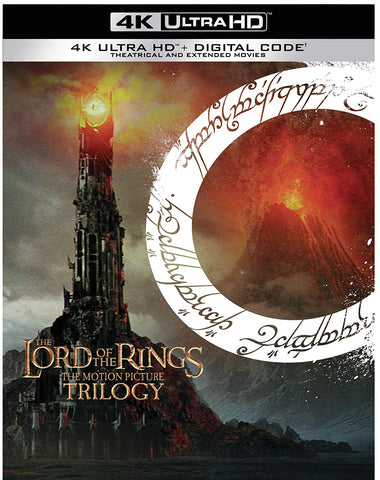 Lord of the Rings, The: Motion Picture Trilogy 4K UHD + Digital Code 9xBluray (Region A) 2020