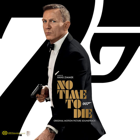 OST 007: No Time To Die by HANS ZIMMER LP 2020