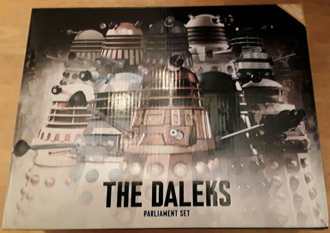DOCTOR WHO: Dalek Parliament Part 1 - Doctor Who Figurines Collection