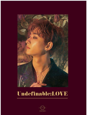 Hong Eunki - Mini Album Vol. 1 UNDEFINABLE: LOVE CD 2020