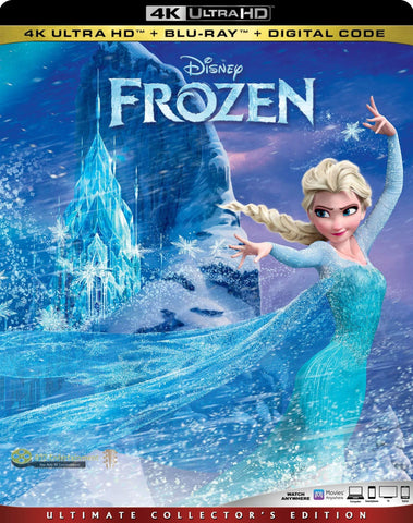 Frozen 4K Uhd (All Regions)+ Bluray (Region A) + Digital 2019 International Movie
