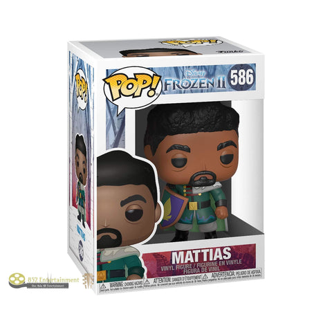 Funko Pop! Disney: Frozen 2 - Mattias (Vinyl Figure) Toys & Games