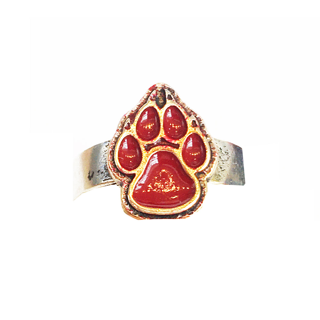 Red Paw Lobo Adjustable Ring/ Toe Ring