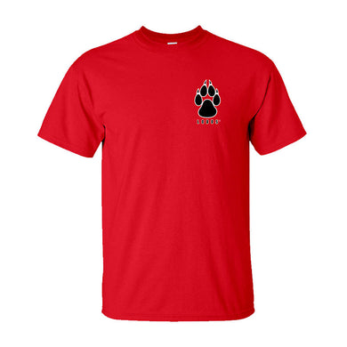 UNM Red Infant Paw Tee