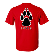 Load image into Gallery viewer, UNM Red Paw Tee