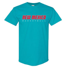 Load image into Gallery viewer, Turquoise New Mexico Basketball Tee