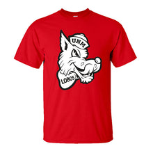 Load image into Gallery viewer, UNM Retro Louie Red Tee