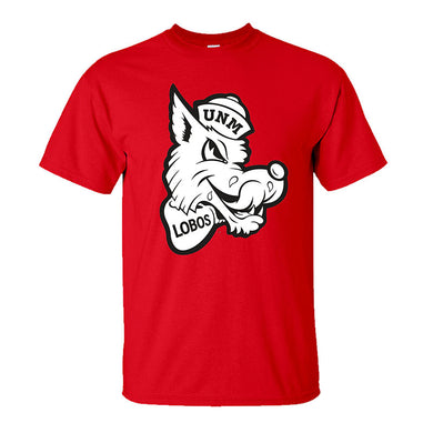 UNM Retro Louie Red Tee