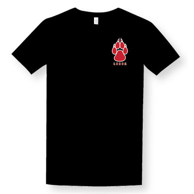Black Paw Logo T-Shirt