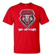 Load image into Gallery viewer, UNM Be Afraid Red Tee