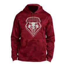 Load image into Gallery viewer, UNM Red Camohex Hood