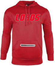 Load image into Gallery viewer, Lobos Performance Red Hoodie