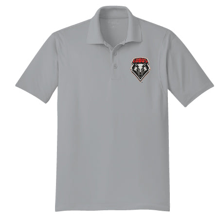 Men's Grey Polo Shield Logo T-Shirt