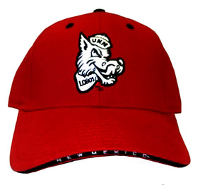 Red UNM Retro Louie Hat