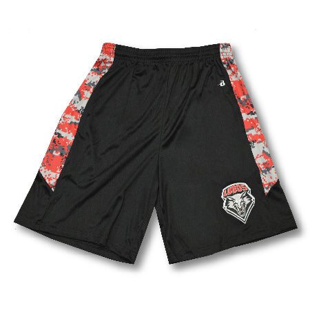 Lobos Digital Camo Athletic Shorts