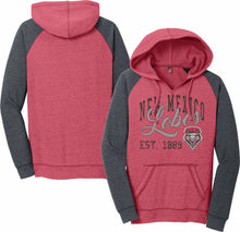 Load image into Gallery viewer, UNM Lobo Women's Raglan Hood