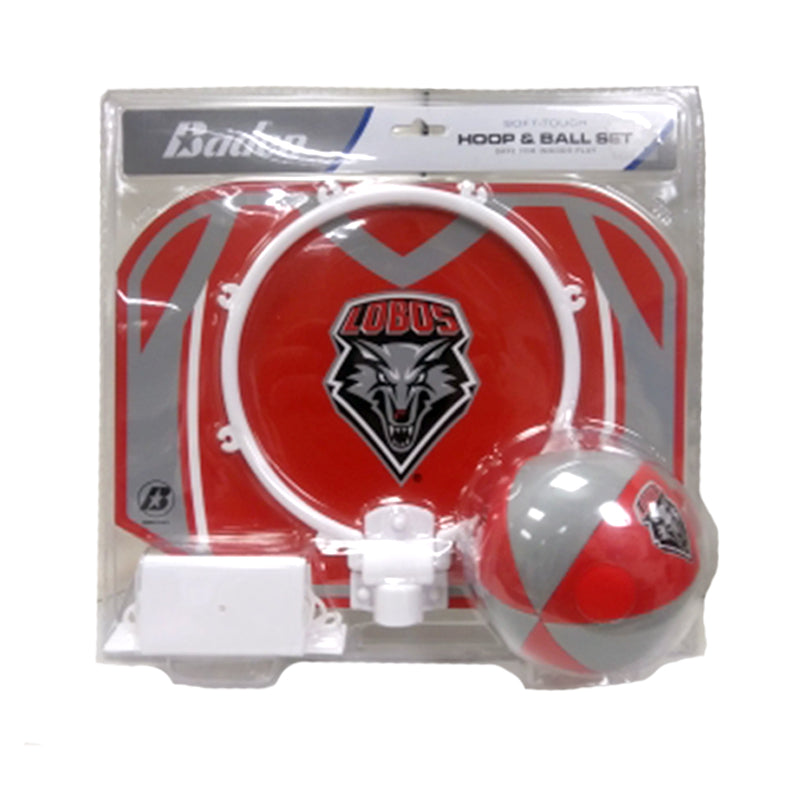 UNM Lobos Hoop and Ball Set
